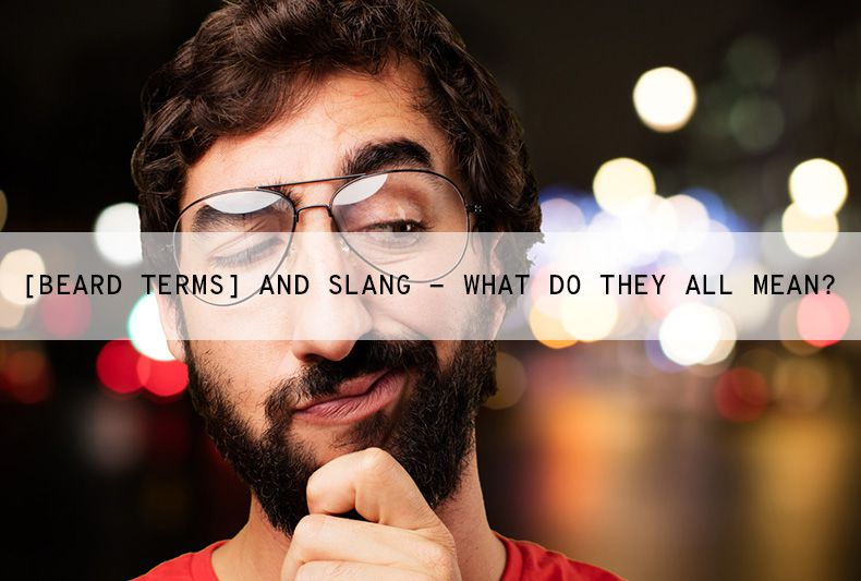 Beard Terminology