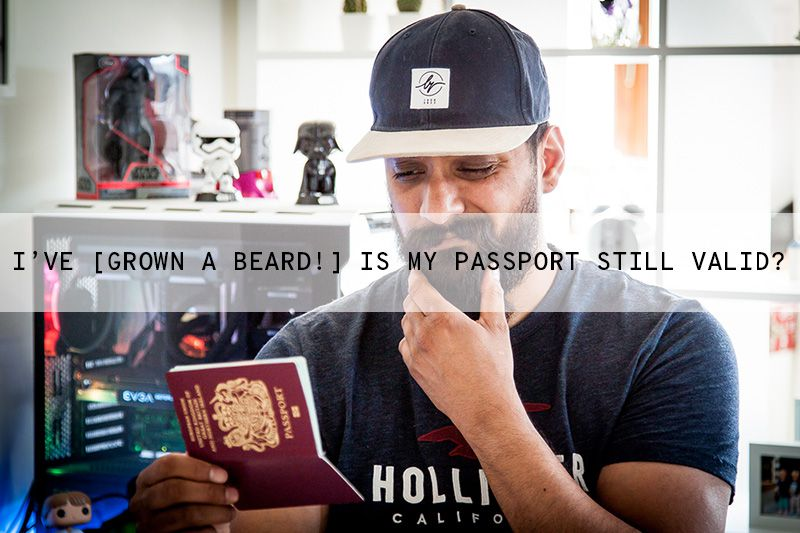 Can I Have a Beard in My Passport Photo?