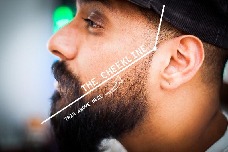 Proper Beard Cheek Line