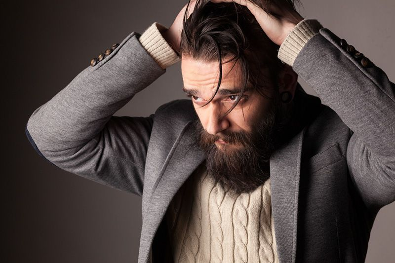 Argan oil helps to prevent Beard Dandruff