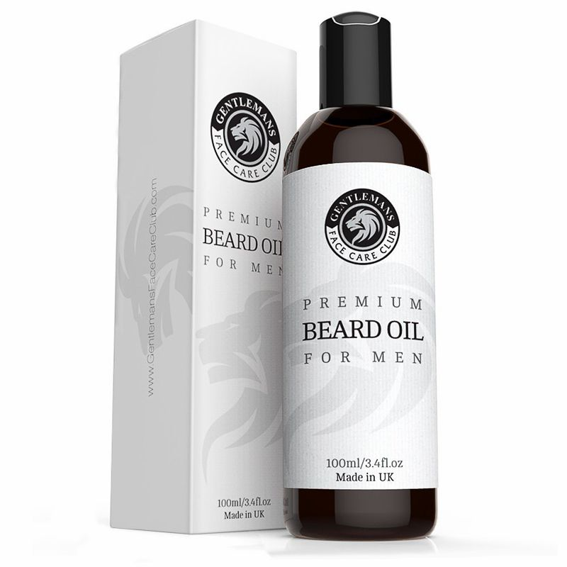 Gentlemans Face Care Club Beard Oil (Vanilla and Sandalwood)