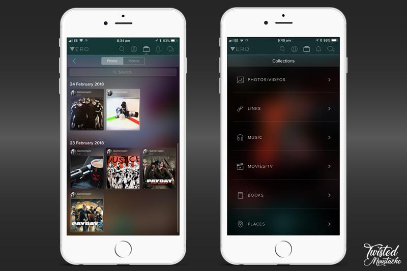 Vero App - Collections
