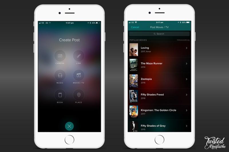 Vero App - Sharing Media