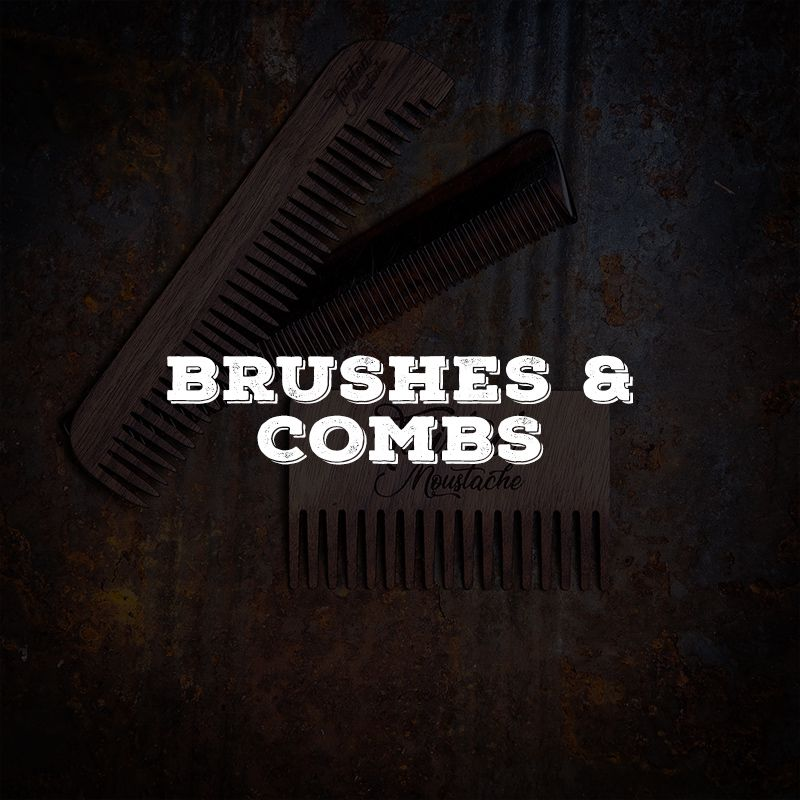 Beard combs and brushes