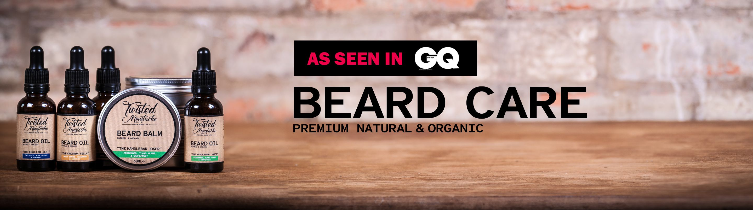 Premium quality beard care - Our latest offers