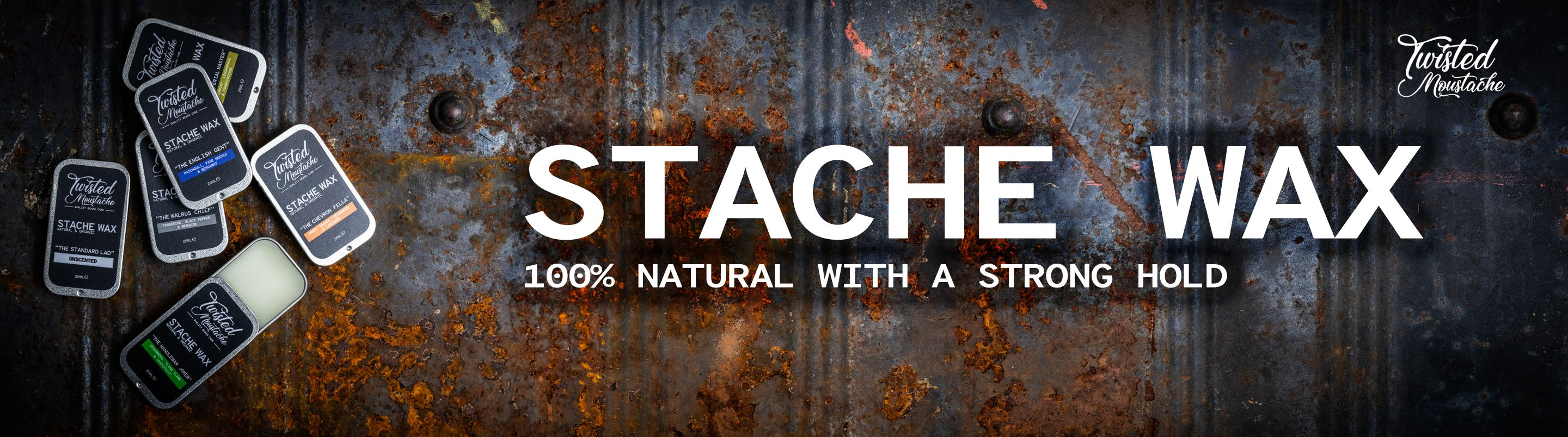 Strong Hold Moustache Wax has arrived