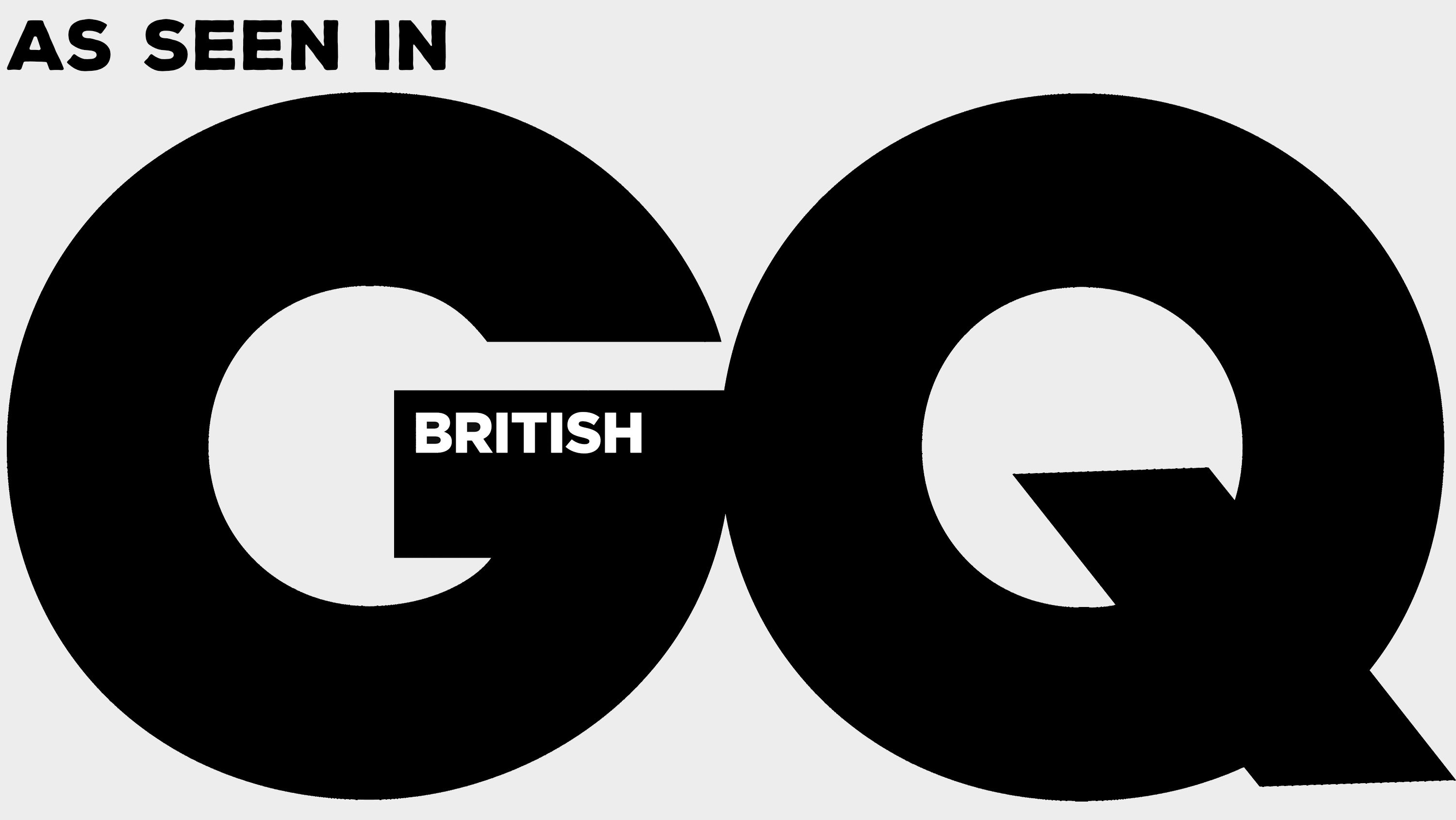 As seen in British GQ