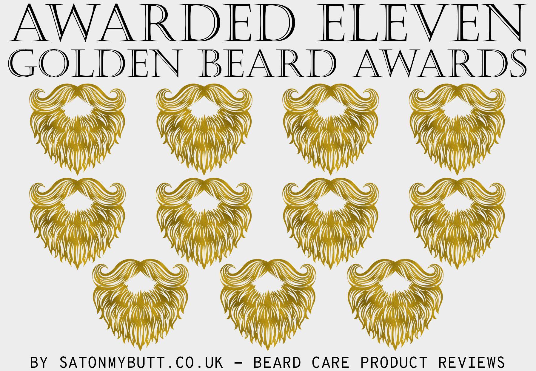 Award Winning Beard Oil - Sat On My Butt