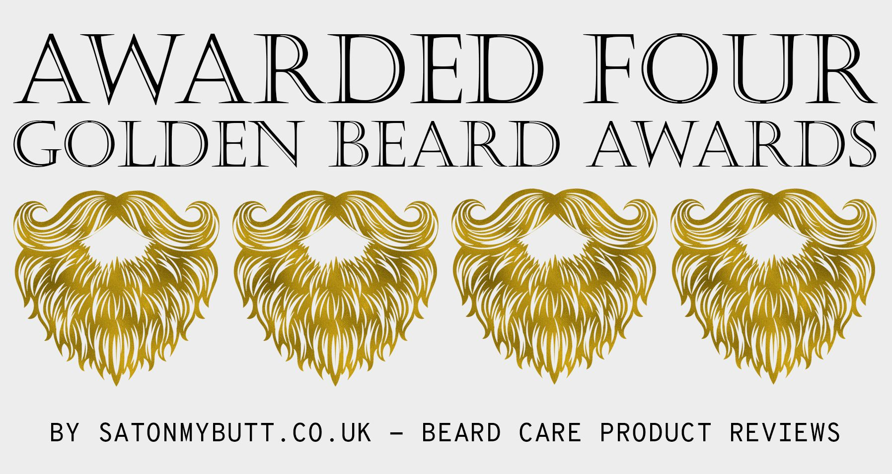 Award Winning Beard Oil - Sat On My Butt
