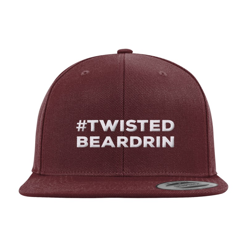 Twisted Beardrin Snapback Cap