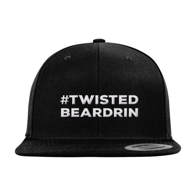 Twisted Beardrin Snapback Cap