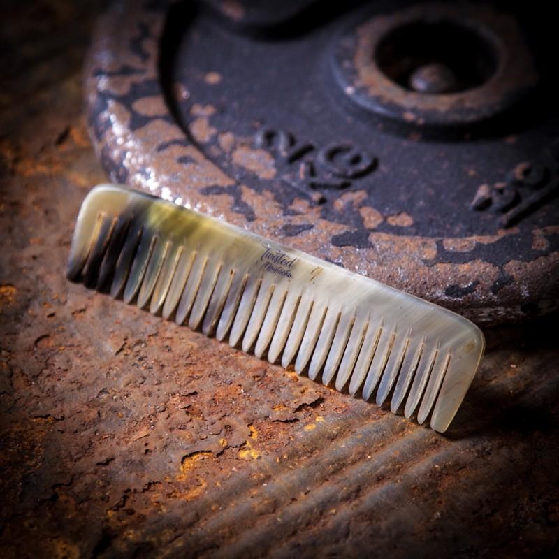 Ox Horn Small Beard & Stache Comb