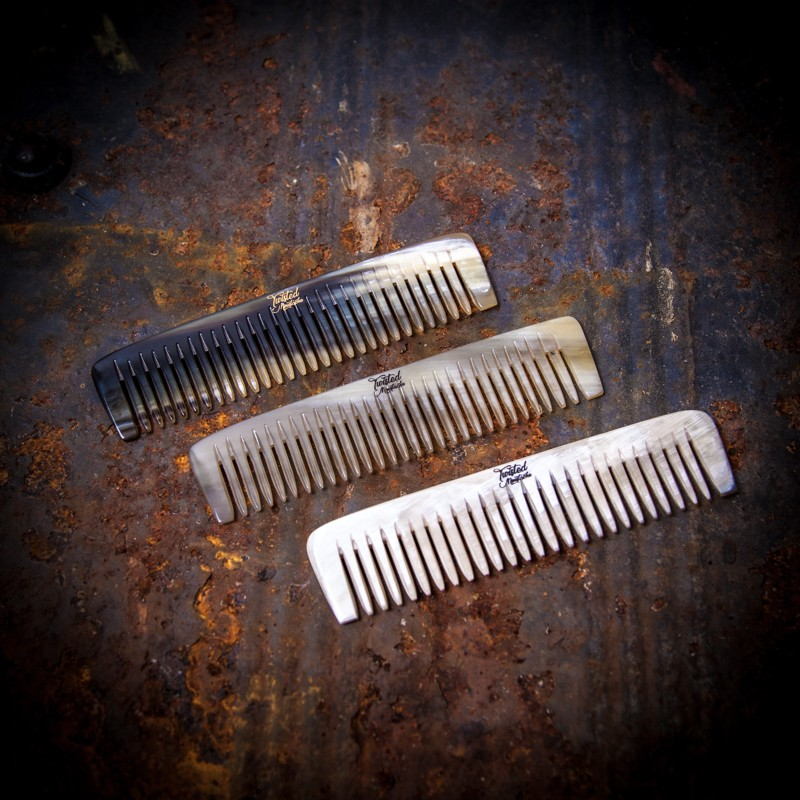 Ox Horn Small Beard & Stache Comb