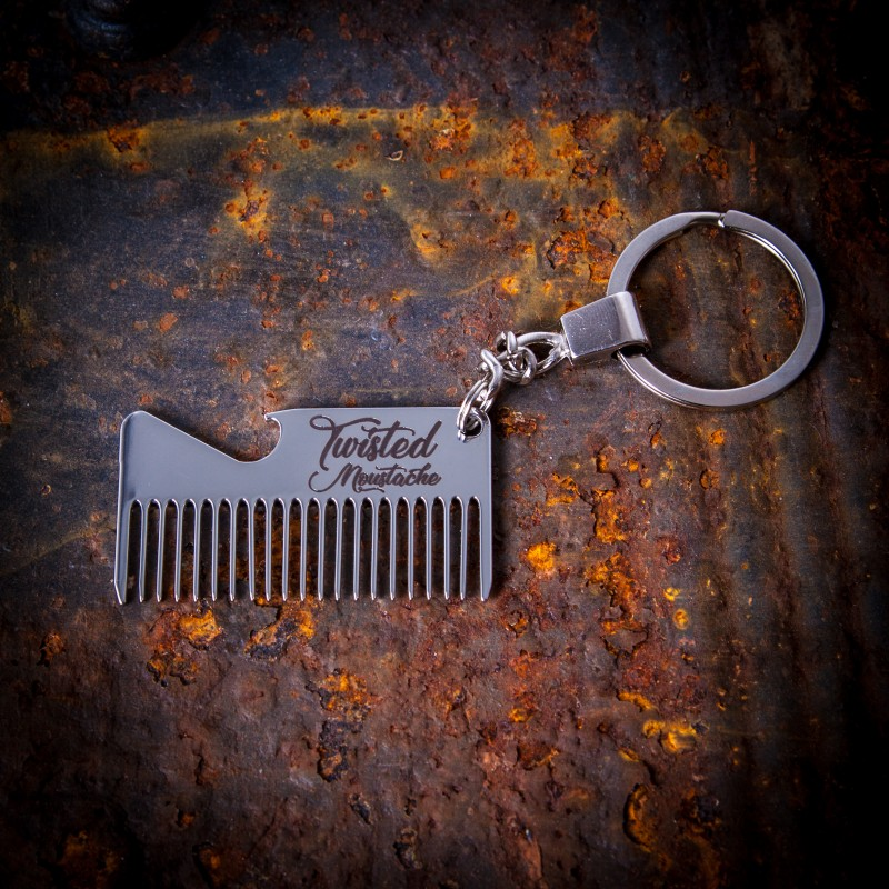 Pocket Moustache Comb