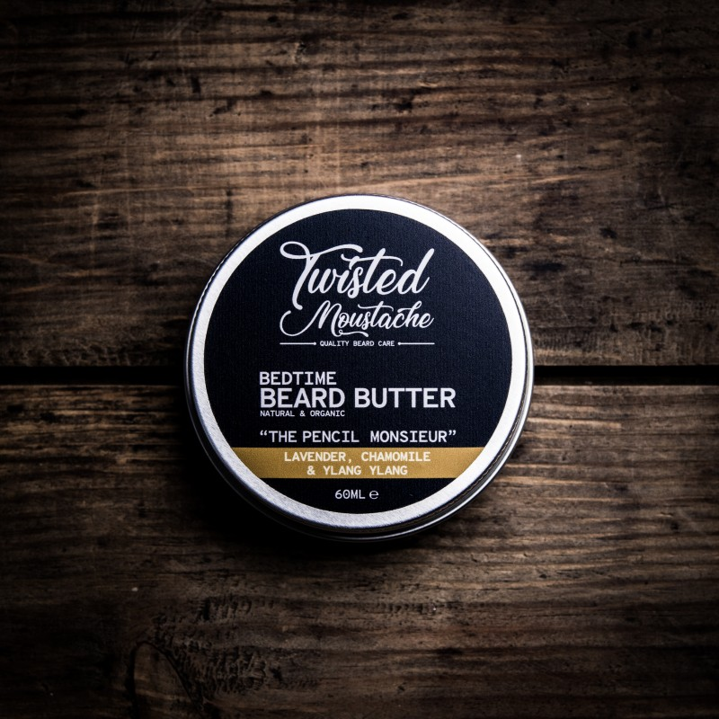 The Pencil Monsieur Bedtime Beard Butter