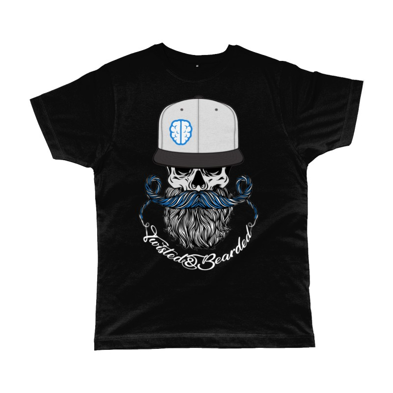 Twisted & Bearded alzheimers Edition Tee