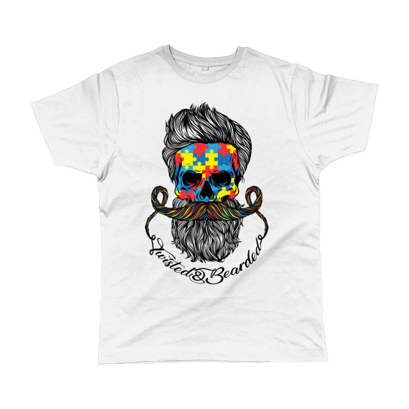 Twisted & Bearded Autism Edition Tee