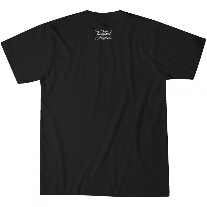 Twisted & Bearded Mental Health Edition Tee - Black