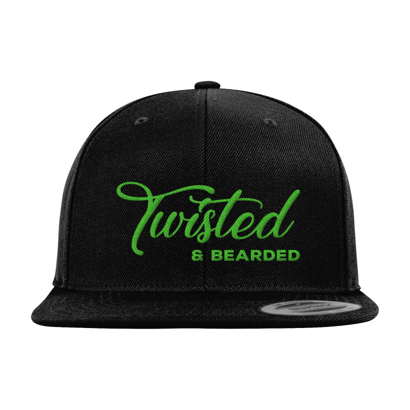 Twisted Bearded Mental Health Snapback Cap