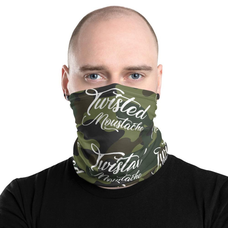 Twisted Moustache Beard Cover