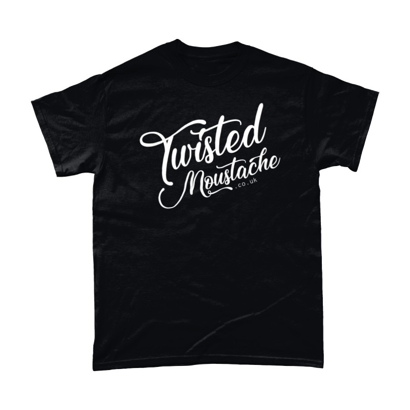 Twisted Moustache Large Logo Tee