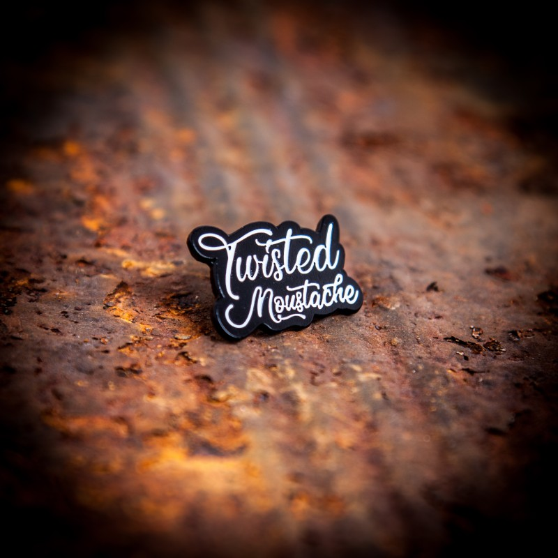 Twisted Moustache Enamel Pin