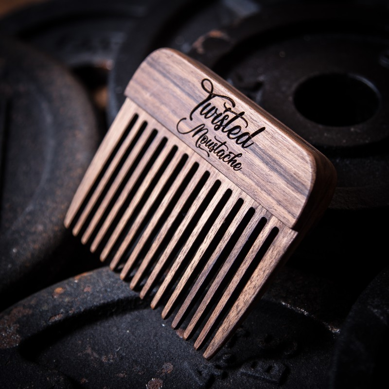 Big Wooden Beard Pick