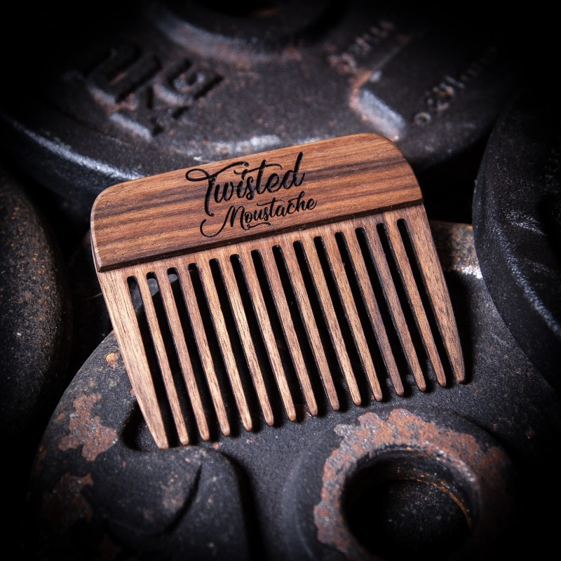 Wooden Beard Pick